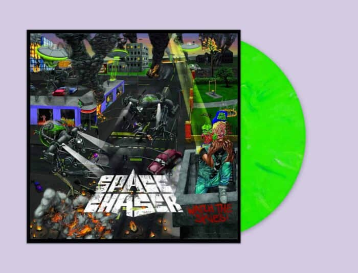 Space Chaser - WTS neon green marbled