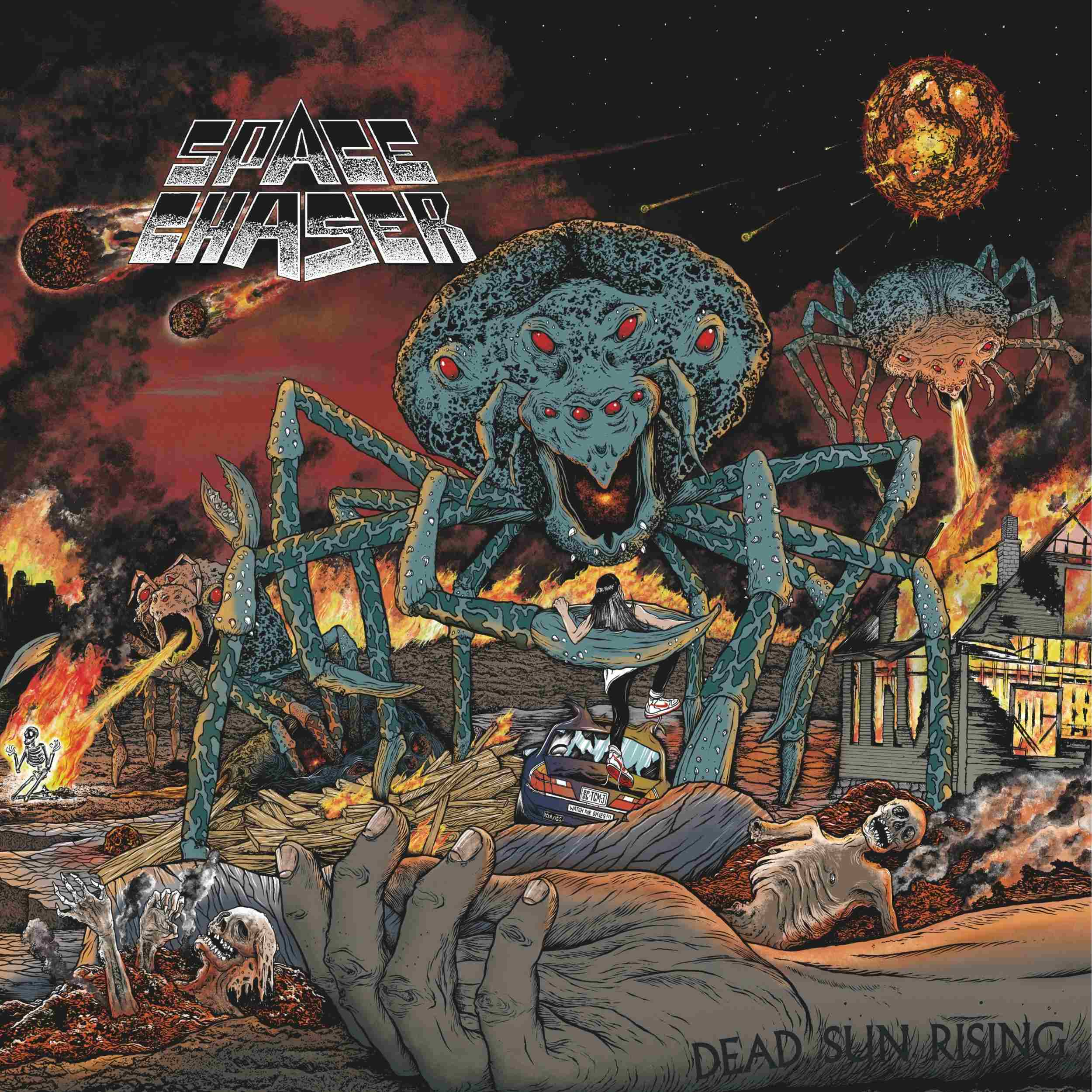 Space Chaser Dead Sun Rising Cover