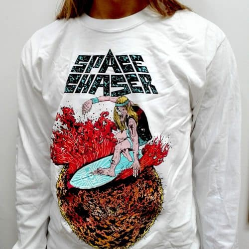 SPACE CHASER Longsleeve