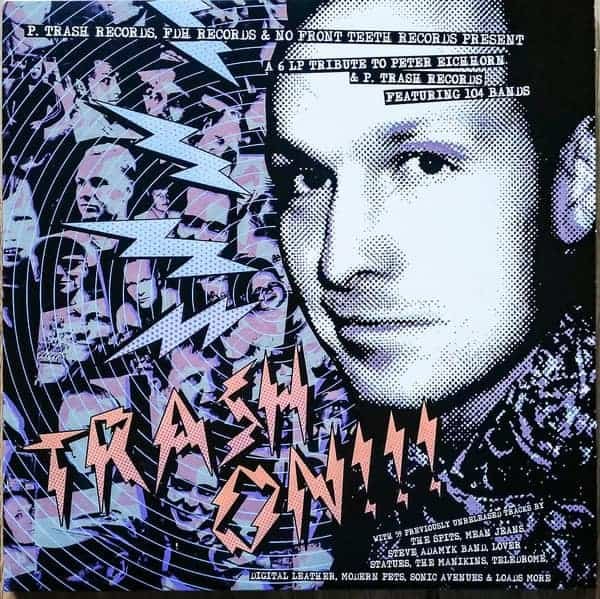 Trash On!!! Compilation Cover