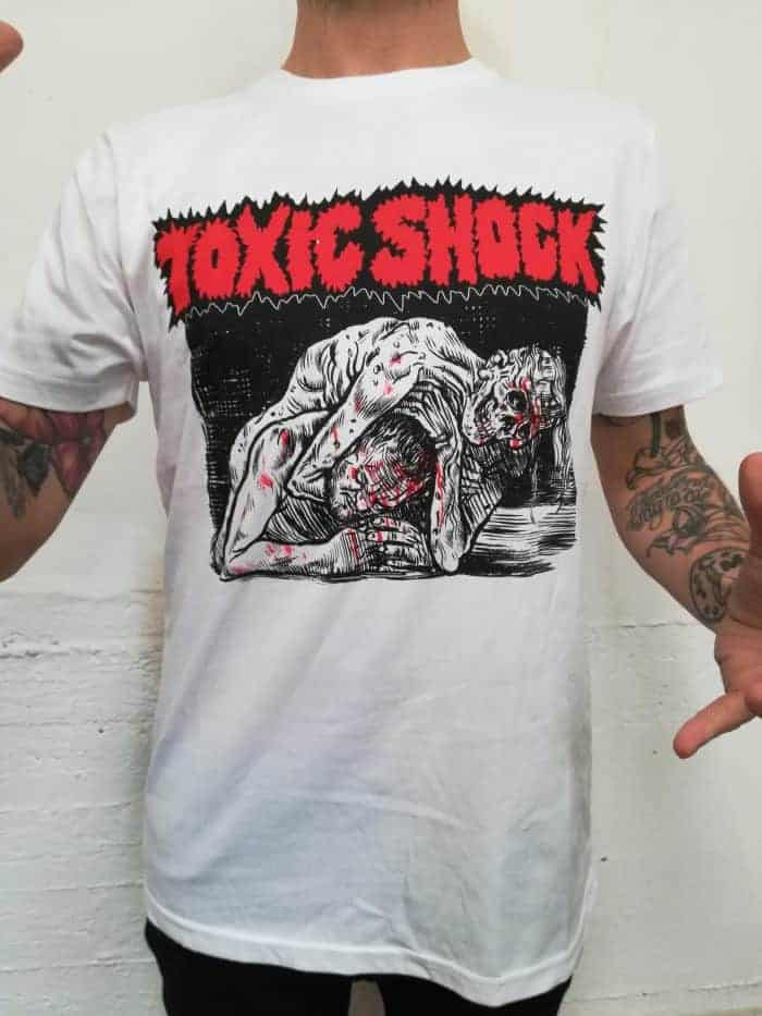 Toxic Shock Zombie Wrestle
