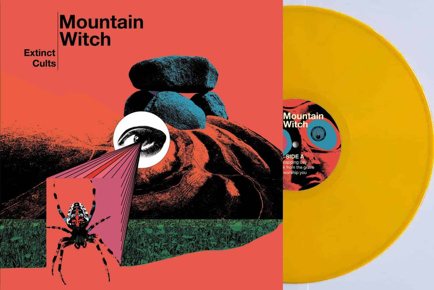 Mountain Witch LP mock gelb