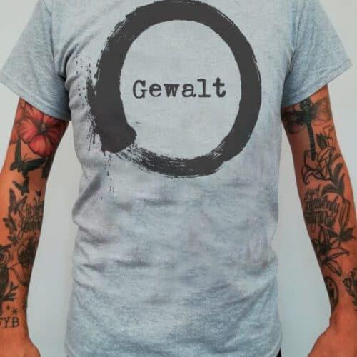 gewalt kreis shirt