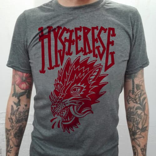 hysterese wolf rot shirt