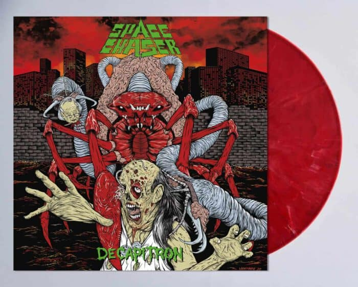 Space Chaser Decapitron red Vinyl
